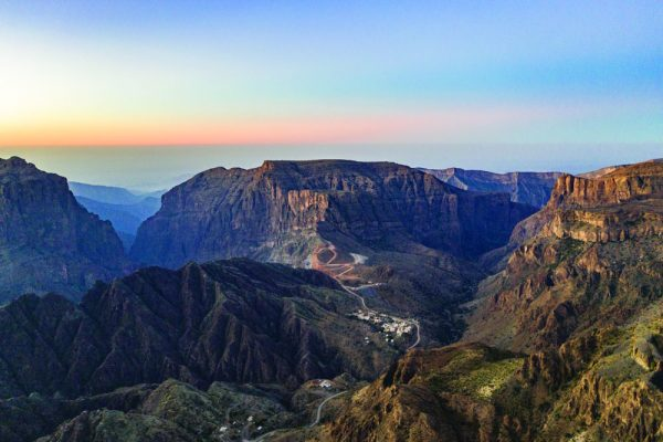 Views from Saiq, Al Jabal Al Akhdar, A'Dakhiliyah Governorate