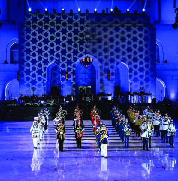 Military music festival at Royal Opera House Muscat